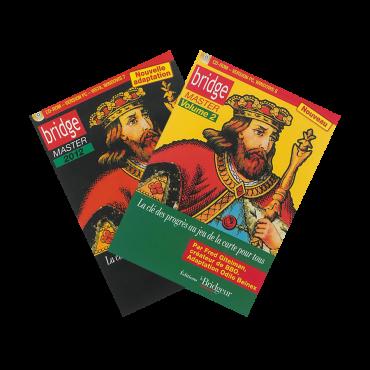Pack Bridge Master vol. 1 et 2 CD-Rom PACLOG16 Logiciels de bridge