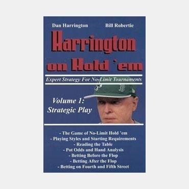 Harrington Hold'em LIV42584A Livres de jeux