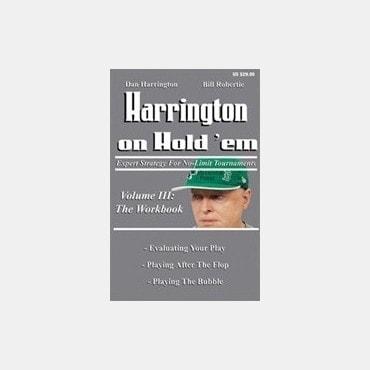 Harrington Hold'em LIV42584C Livres de jeux