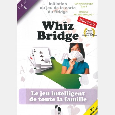 Whiz bridge spécial jeune LOG2316 Logiciels de bridge