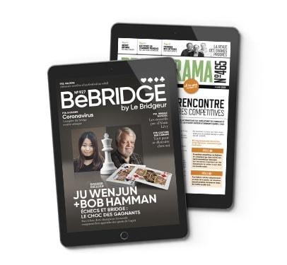 S'abonner à BeBridge + Bridgerama numérique