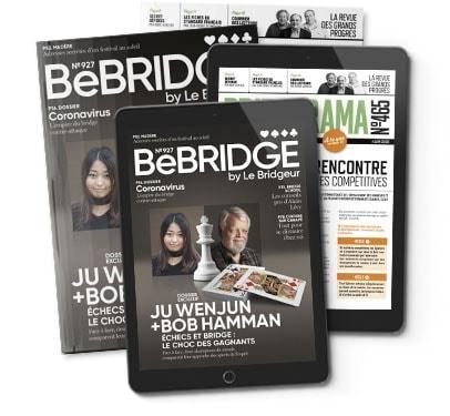 S'abonner à BeBridge + Bridgerama papier & numérique