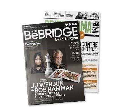 S'abonner à BeBridge + Bridgerama papier